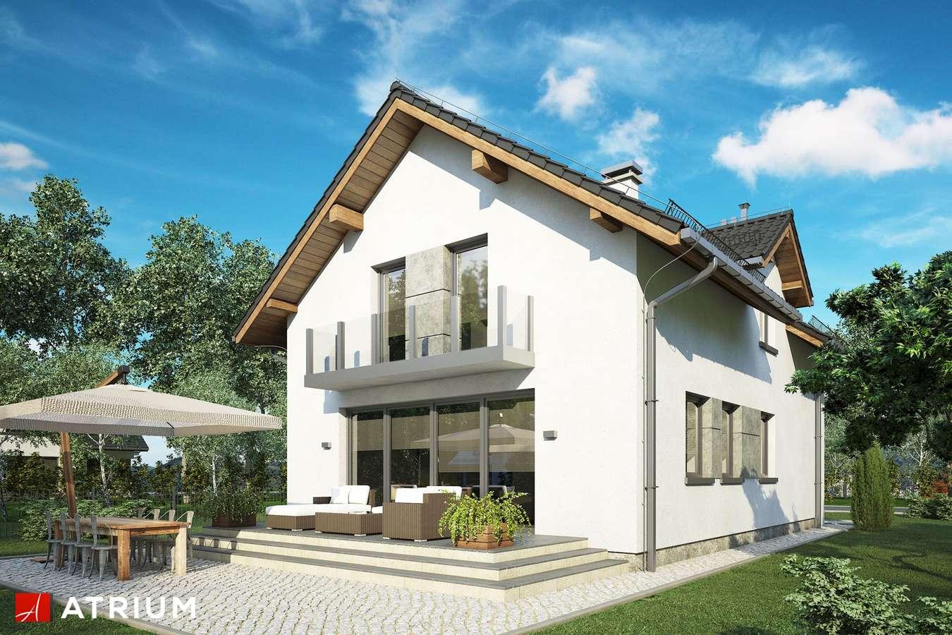 Projekty domów - Projekt domu z poddaszem JAWOR IV - wizualizacja 2