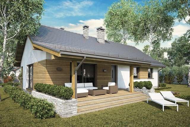 Projekt domu Aurora Maxi II SZ