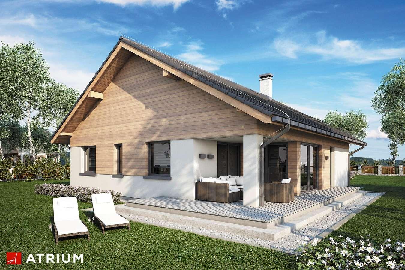 Projekty domów - Projekt domu parterowego WATSON II SZ - wizualizacja 2