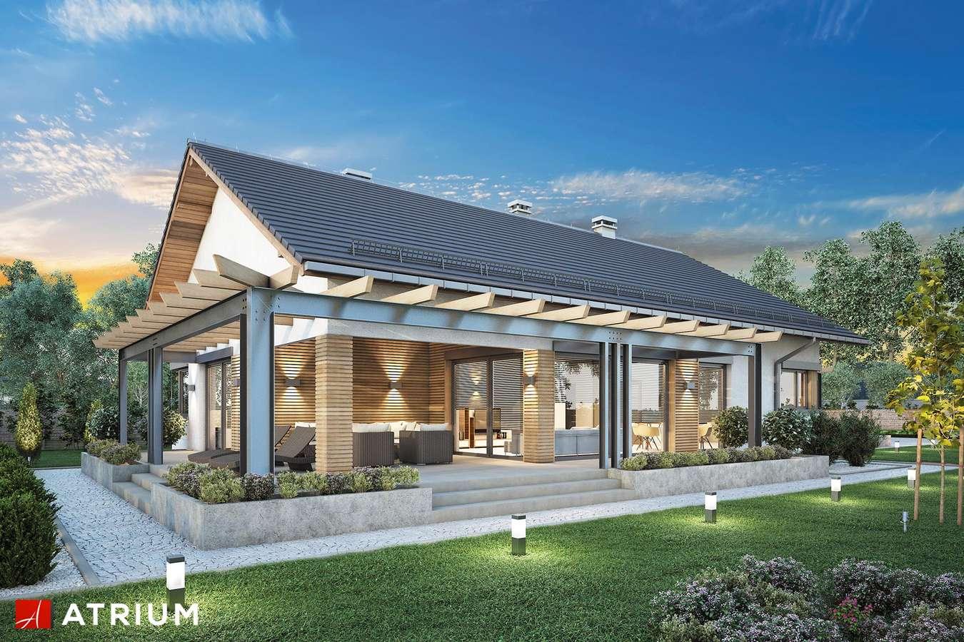 Projekty domów - Projekt domu parterowego MADERA III - wizualizacja 2