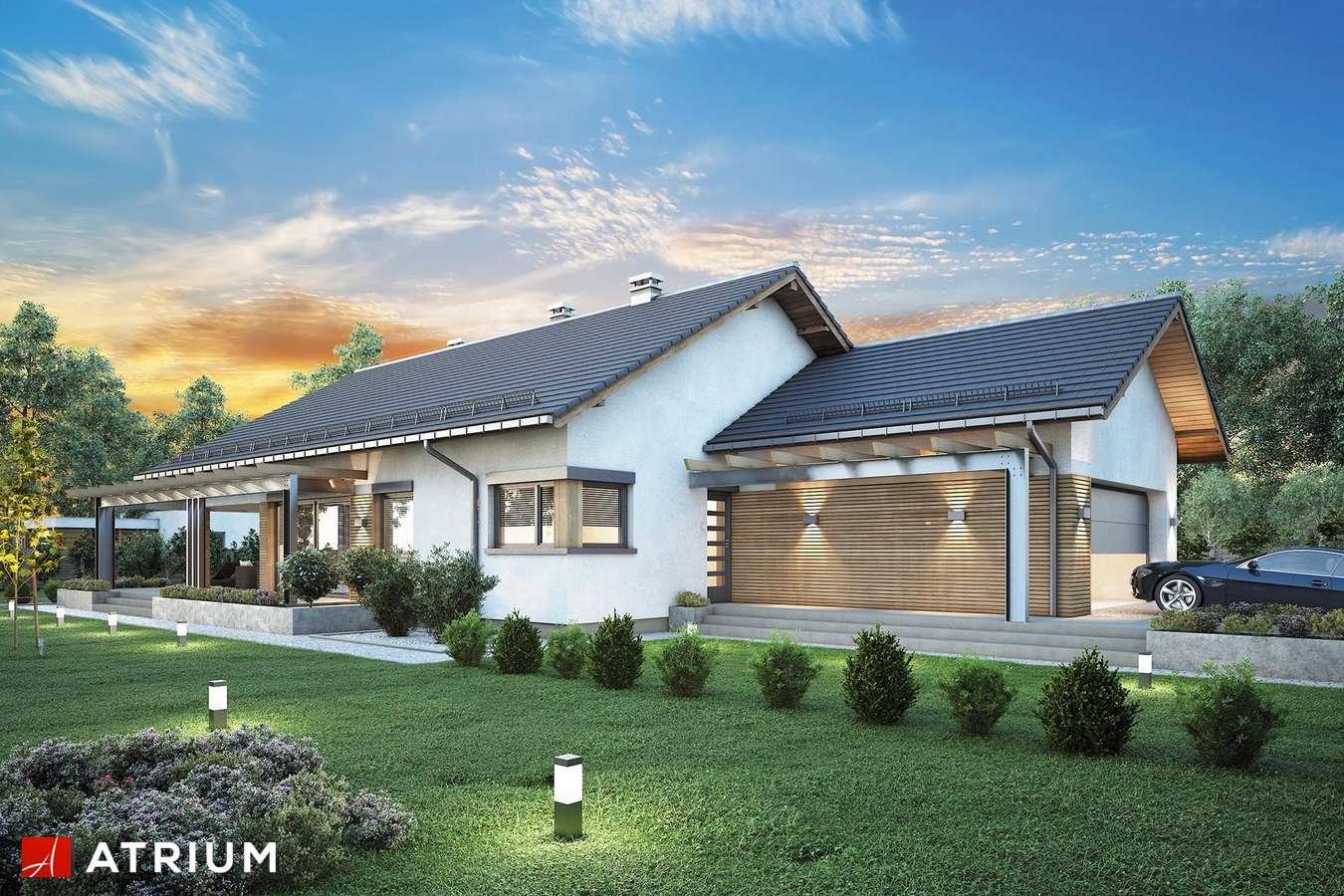 Projekty domów - Projekt domu parterowego MADERA III - wizualizacja 1