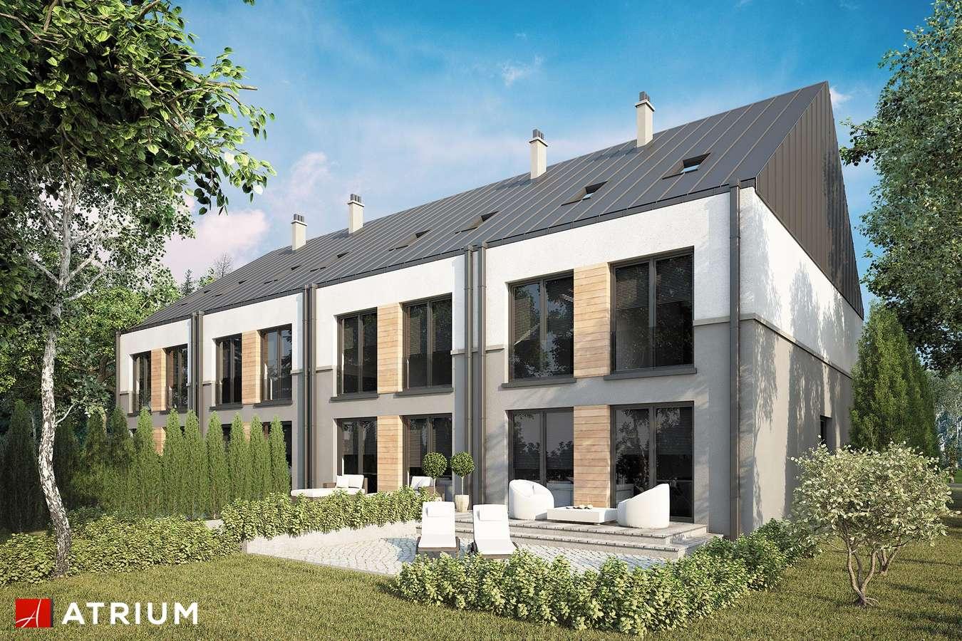 Projekty domów - Projekt domu piętrowego TORINO SLIM - wizualizacja 2