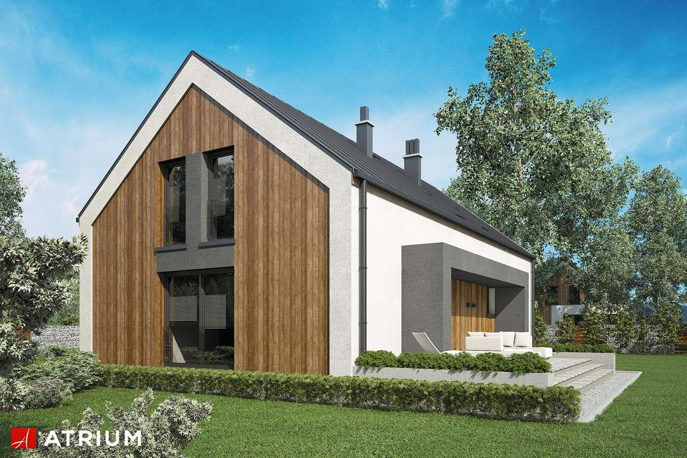 Projekty domów - Projekt domu z poddaszem DAKOTA - wizualizacja 2