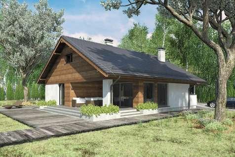 Projekt domu z poddaszem KOS III SZ