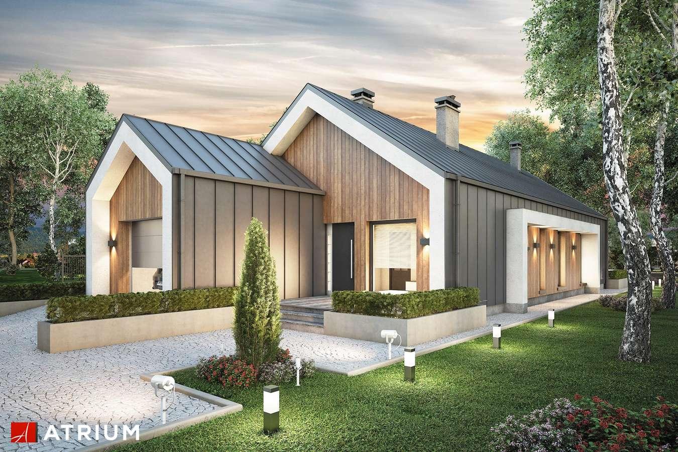 Projekty domów - Projekt domu parterowego LORENZO II - wizualizacja 1