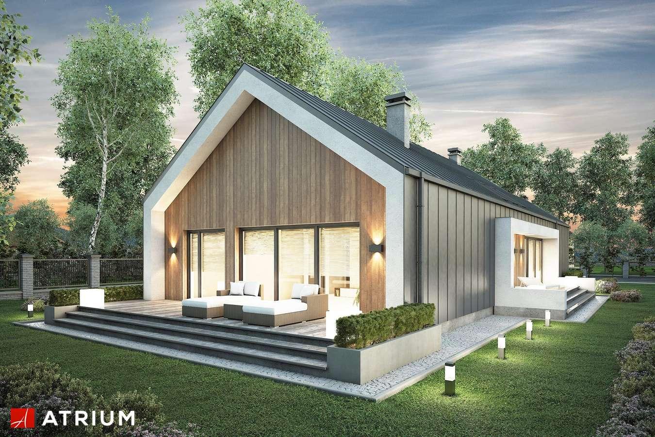 Projekty domów - Projekt domu parterowego LORENZO II - wizualizacja 2