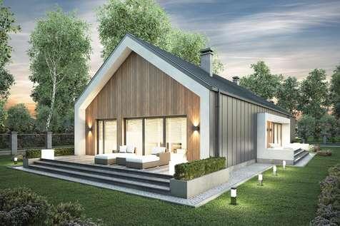 Projekt domu parterowego LORENZO II - wizualizacja 2