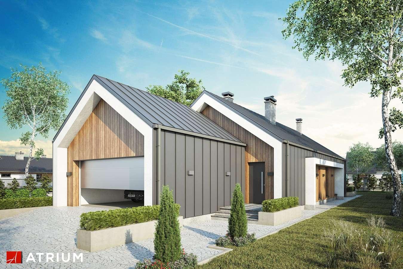 Projekty domów - Projekt domu parterowego LORENZO III - wizualizacja 1