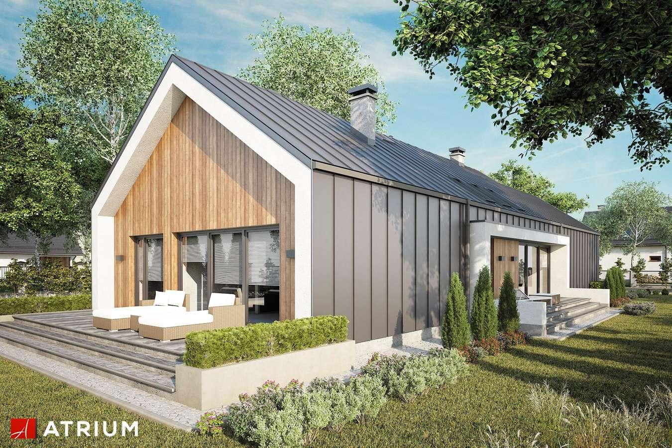 Projekty domów - Projekt domu parterowego LORENZO III - wizualizacja 2