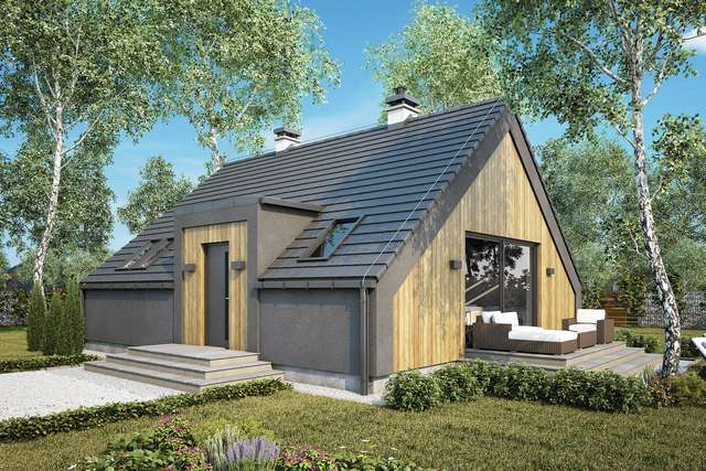 Projekt domu Tenda