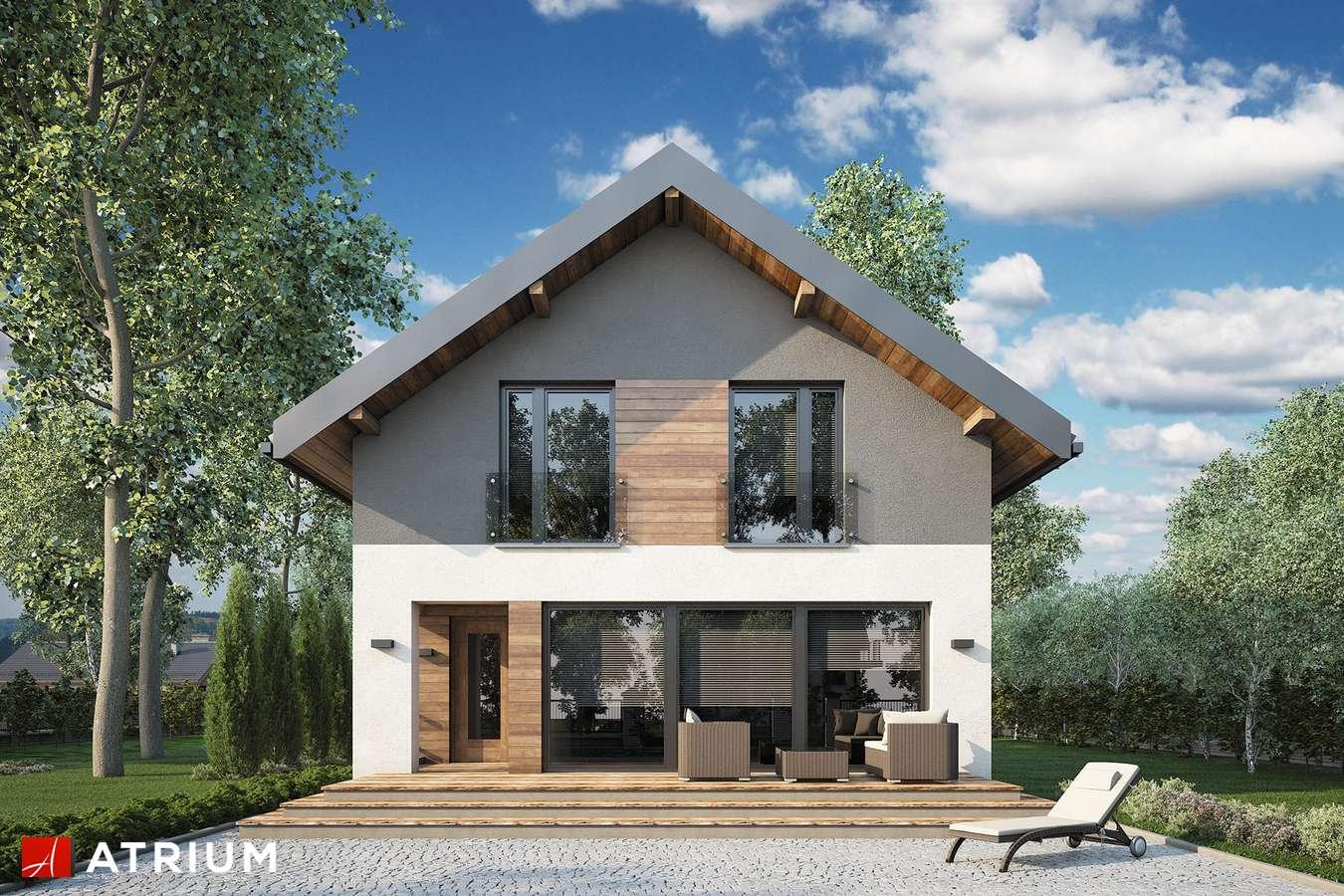 Projekty domów - Projekt domu z poddaszem BERGAMO IV - wizualizacja 2
