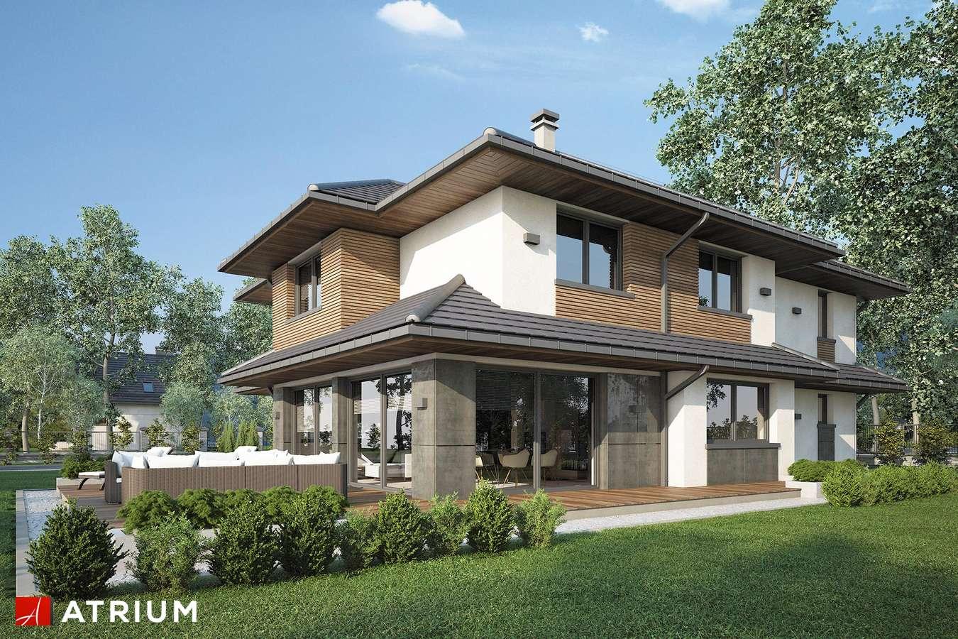 Projekty domów - Projekt domu piętrowego MARSYLIA - wizualizacja 2