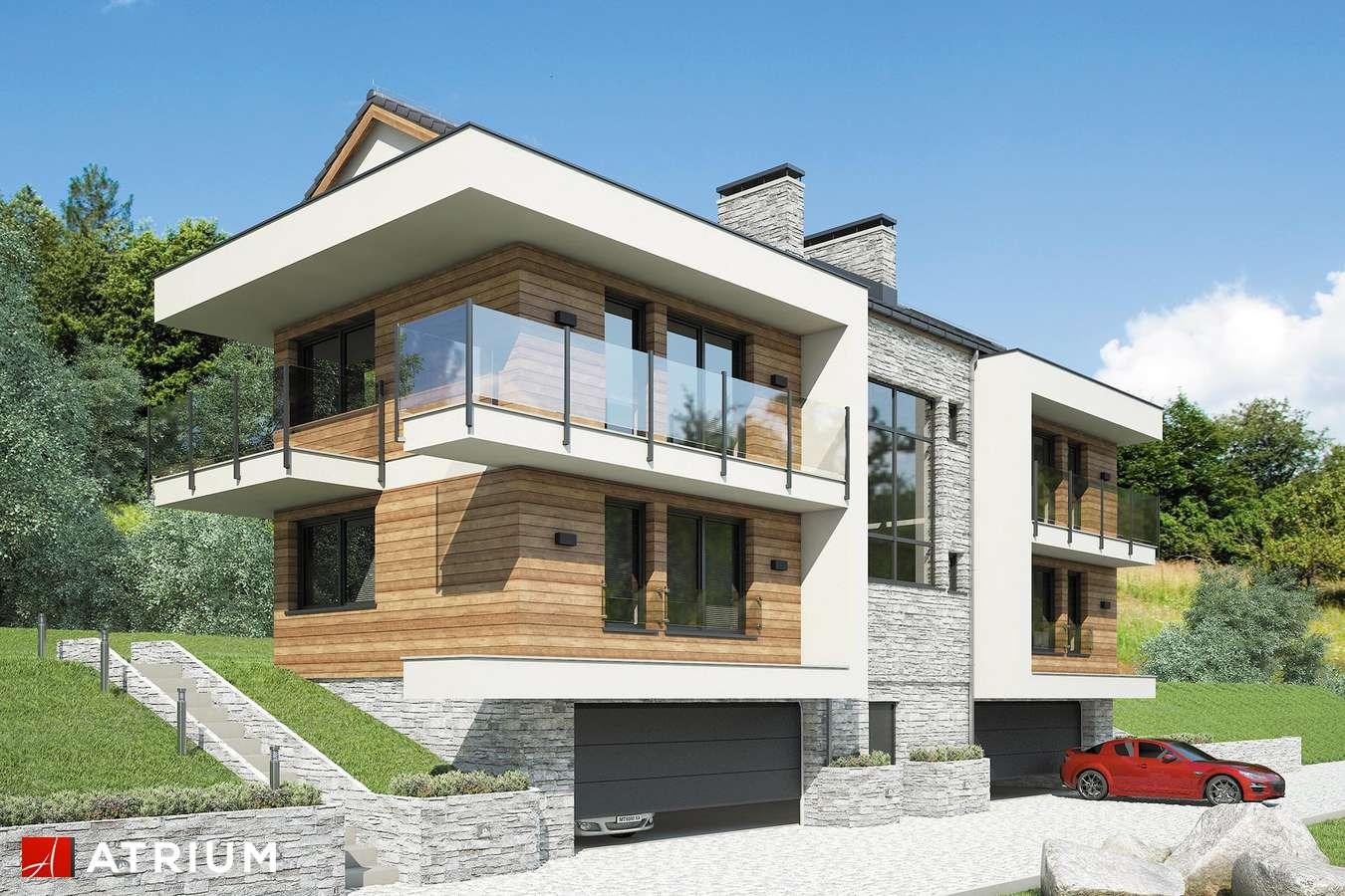 Projekty domów - Projekt domu piętrowego STUDIO HOUSE - wizualizacja 1