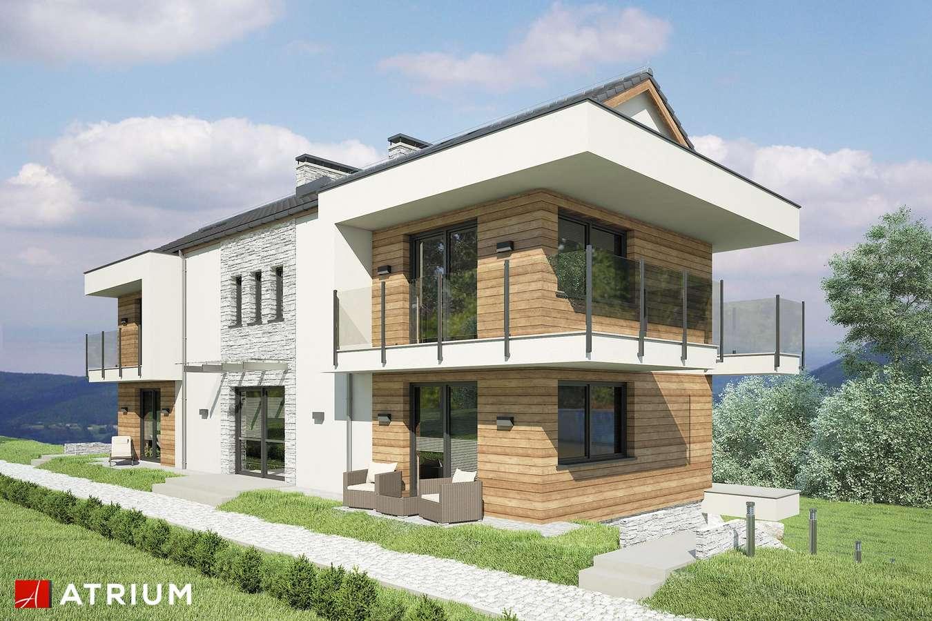 Projekty domów - Projekt domu piętrowego STUDIO HOUSE - wizualizacja 2