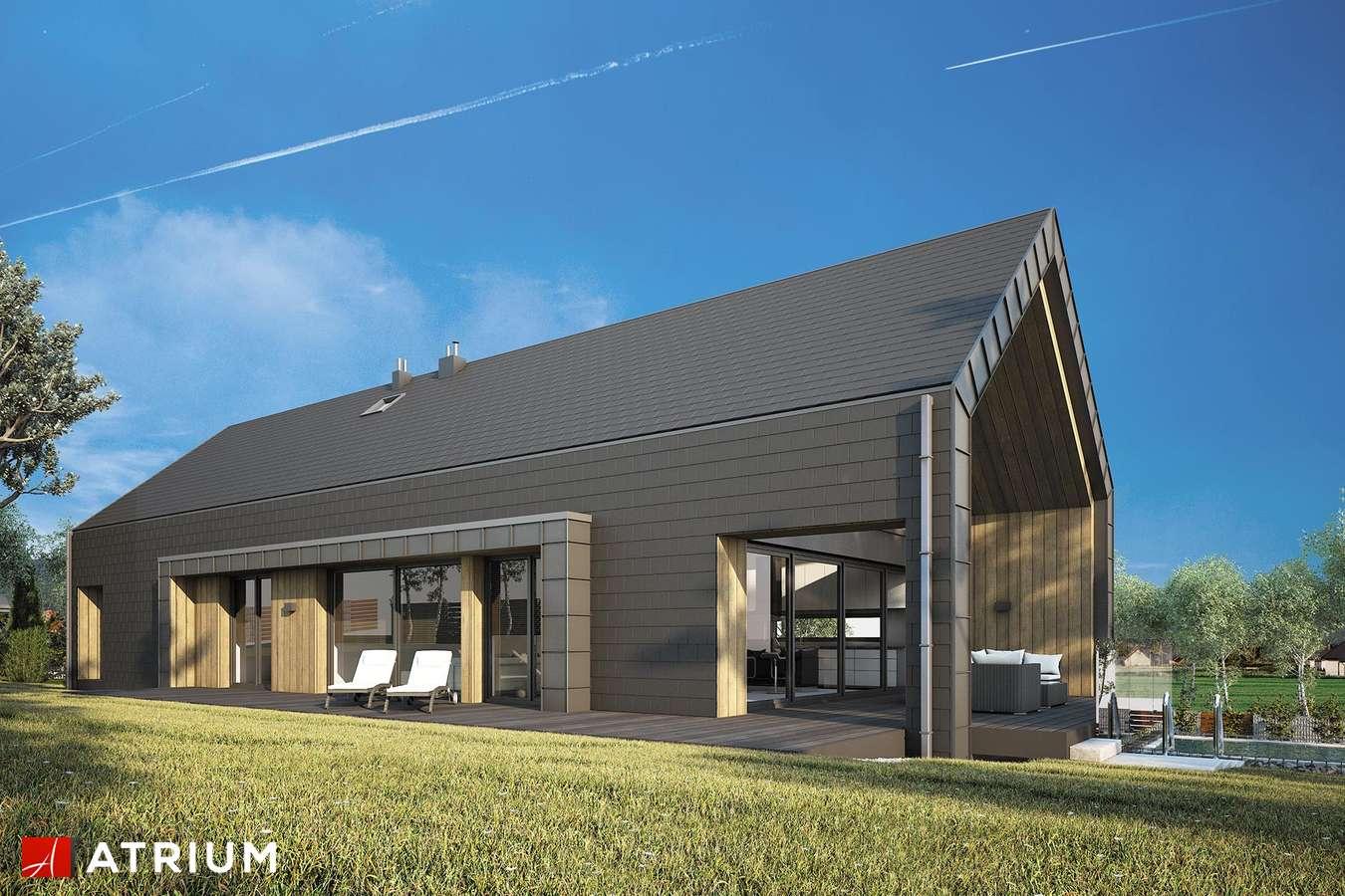 Projekty domów - Projekt domu z poddaszem MARIN - wizualizacja 2