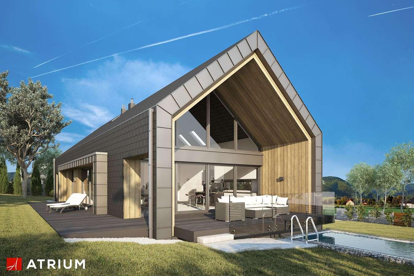 Projekty domów - Projekt domu z poddaszem MARIN - wizualizacja 1
