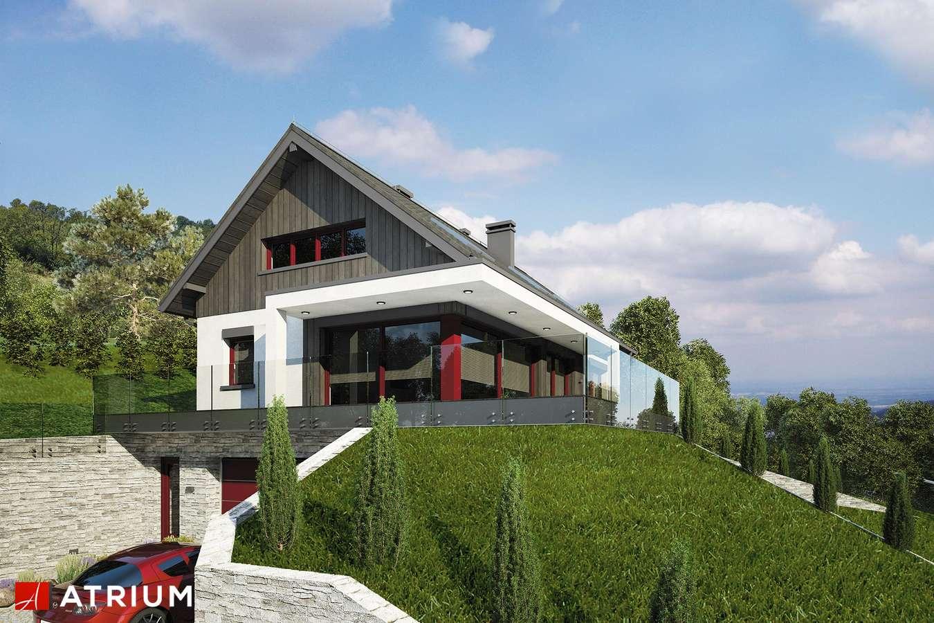 Projekty domów - Projekt domu z poddaszem BOSFOR - wizualizacja 1