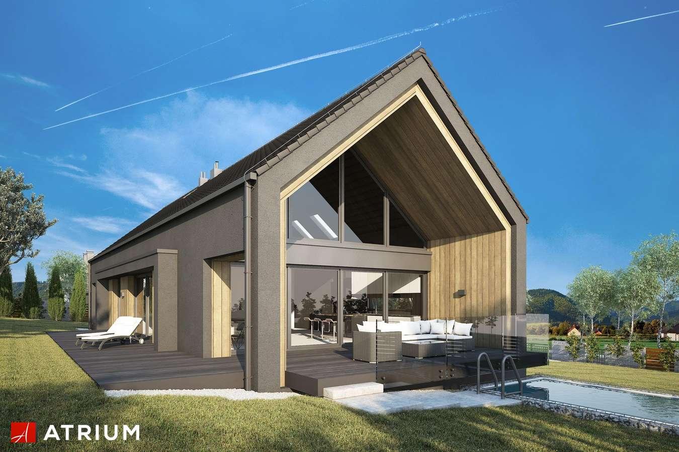 Projekty domów - Projekt domu z poddaszem MARIN II - wizualizacja 1