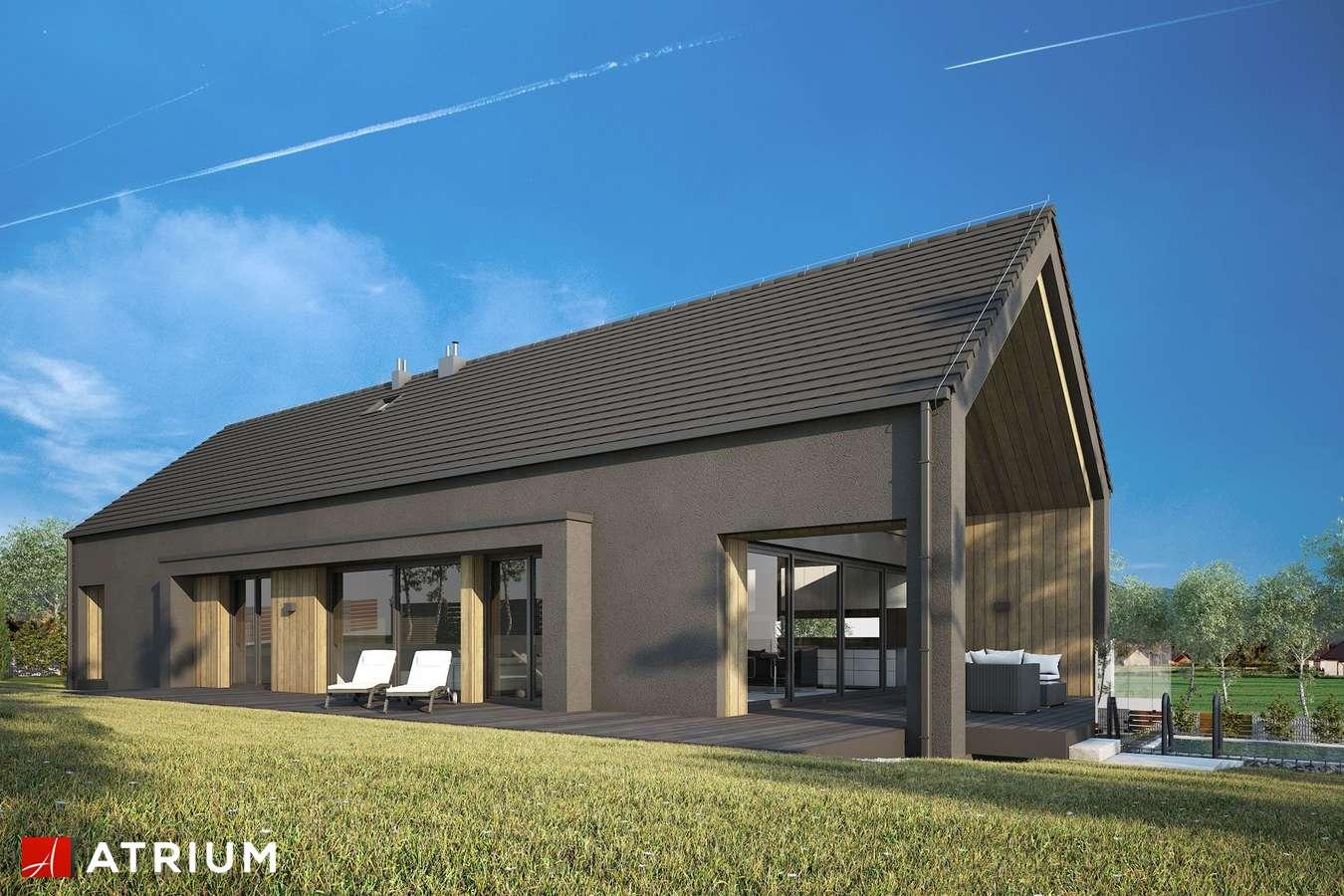 Projekty domów - Projekt domu z poddaszem MARIN II - wizualizacja 2
