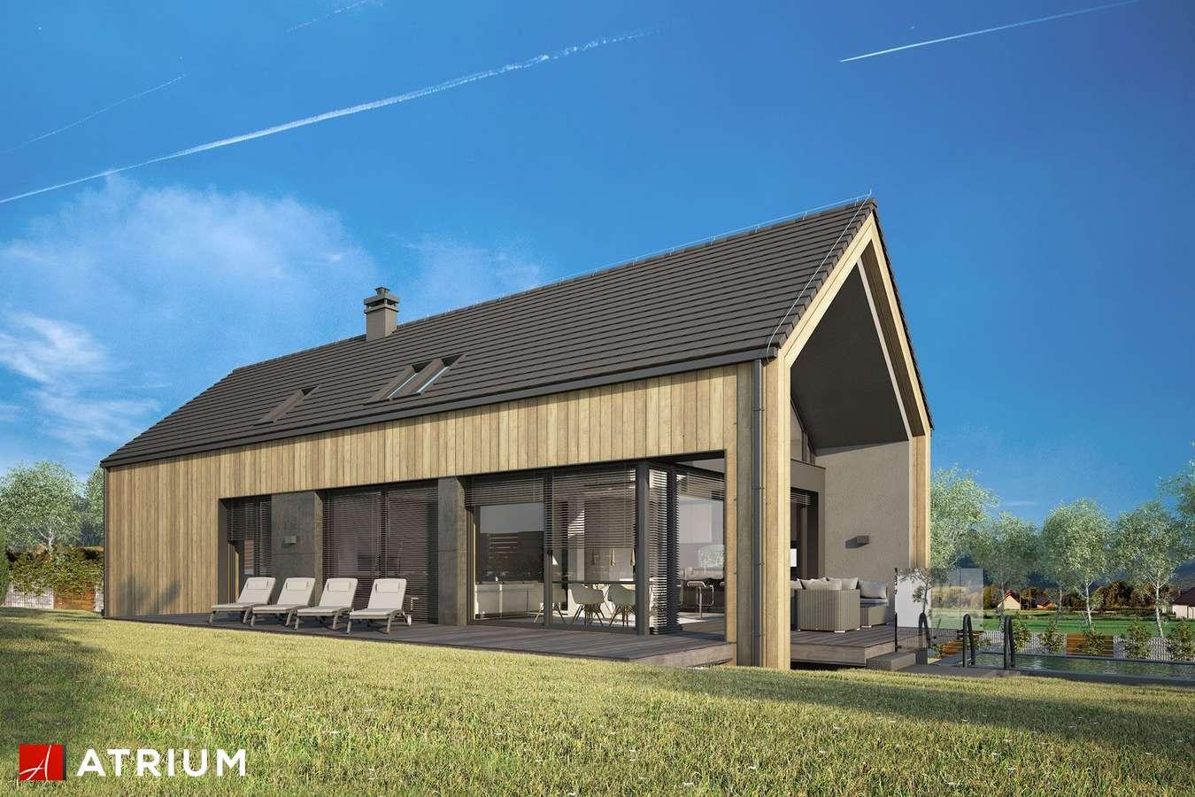 Projekty domów - Projekt domu z poddaszem MARIN III - wizualizacja 1
