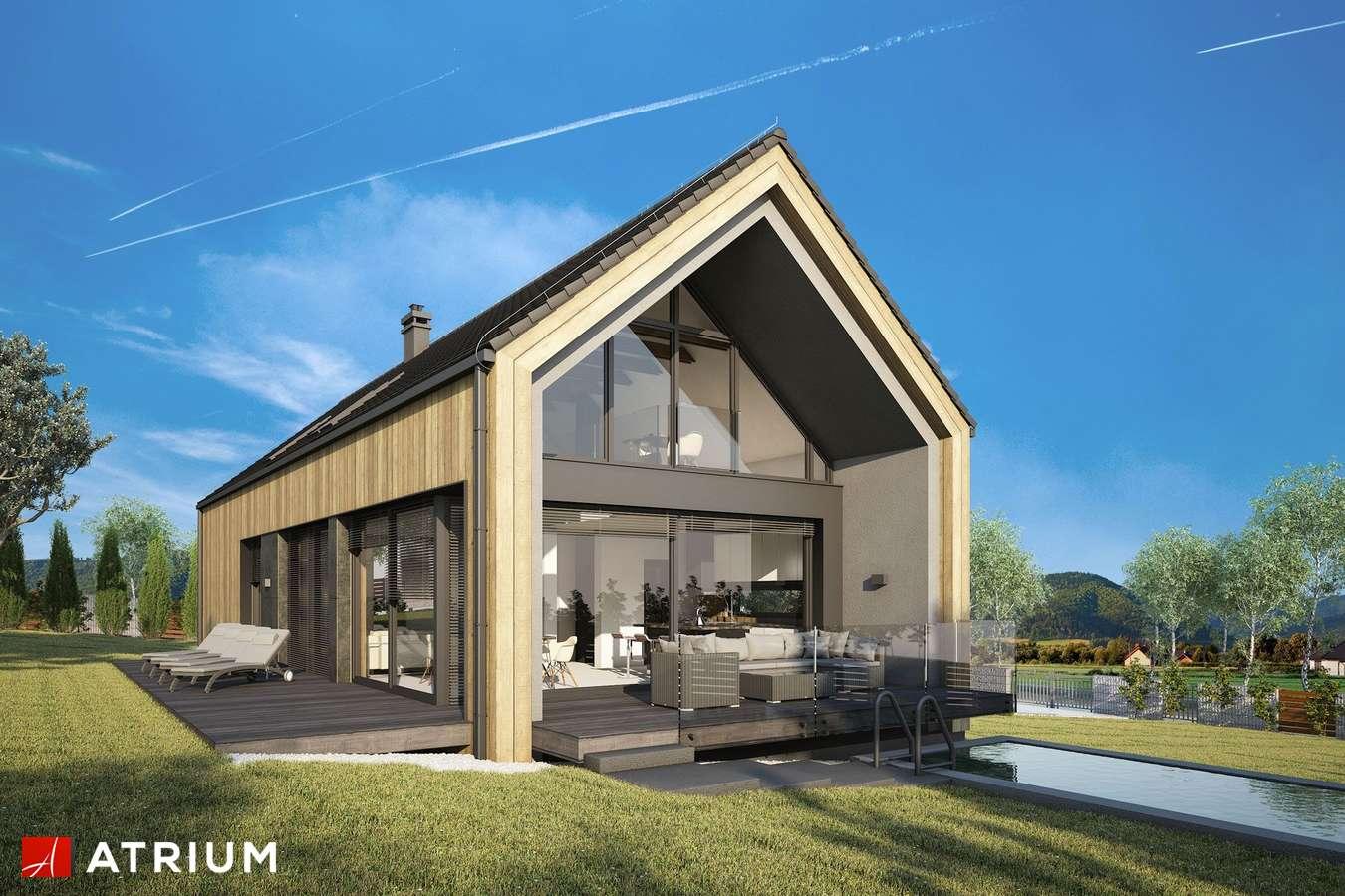 Projekty domów - Projekt domu z poddaszem MARIN III - wizualizacja 2