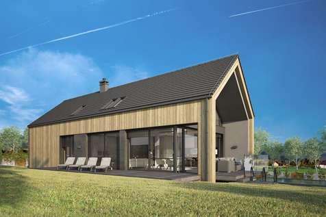 Projekt domu z poddaszem MARIN III