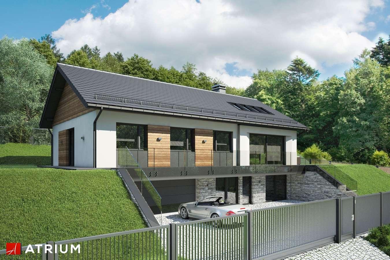 Projekty domów - Projekt domu parterowego MUNA - wizualizacja 1