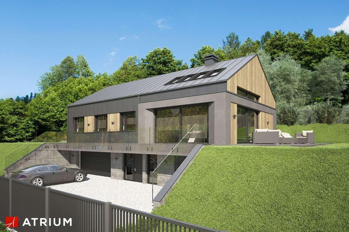 Projekty domów - Projekt domu parterowego MUNA II - wizualizacja 1