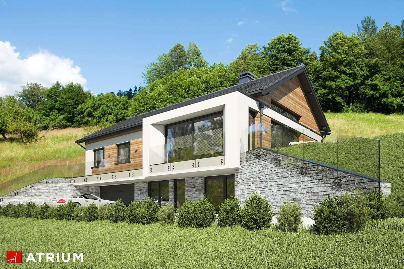 Projekty domów - Projekt domu parterowego MUNA III - wizualizacja 2