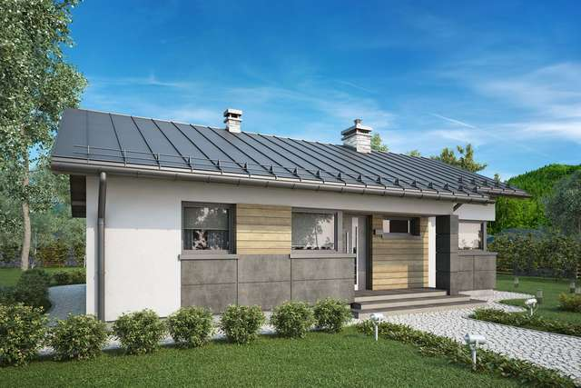 Projekt domu Roberto IV