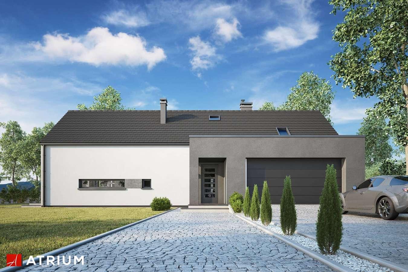 Projekty domów - Projekt domu z poddaszem MARIN IV - wizualizacja 2