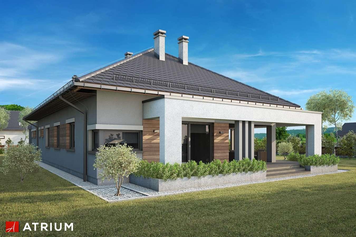 Projekty domów - Projekt domu parterowego SARDYNIA XV - wizualizacja 2