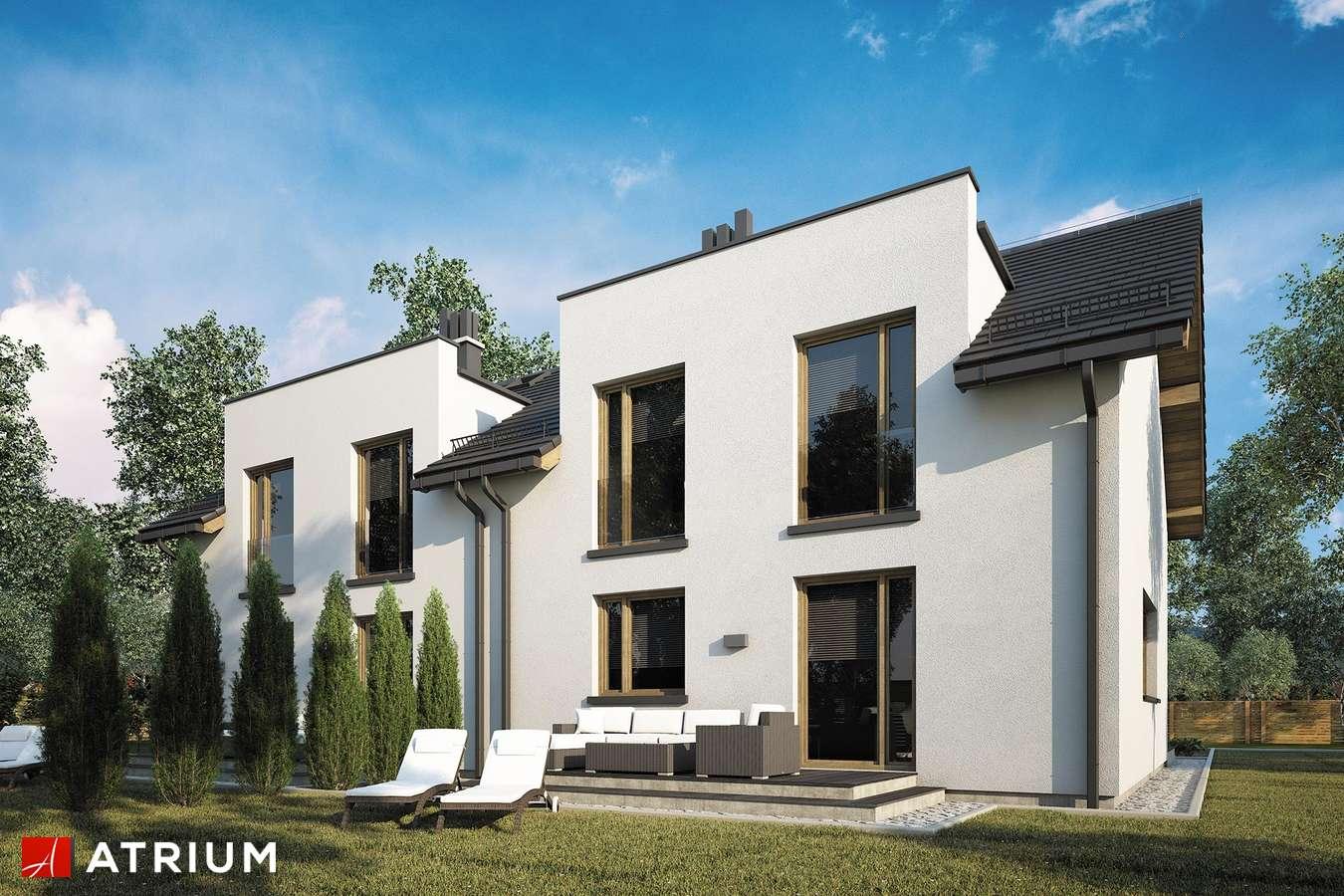 Projekty domów - Projekt domu z poddaszem DOUBLE HOUSE V - wizualizacja 2