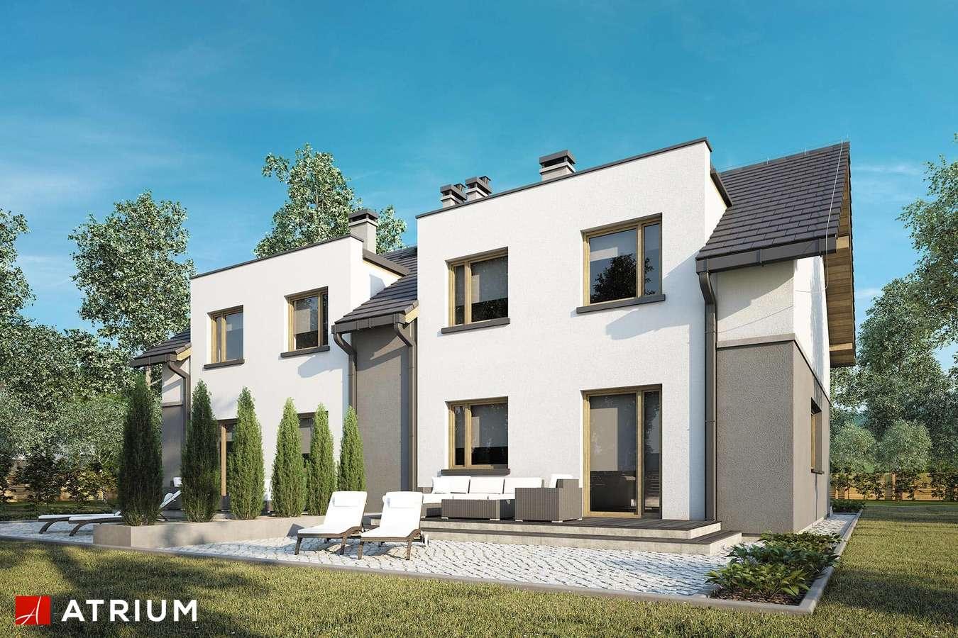Projekty domów - Projekt domu z poddaszem DOUBLE HOUSE VI - wizualizacja 2