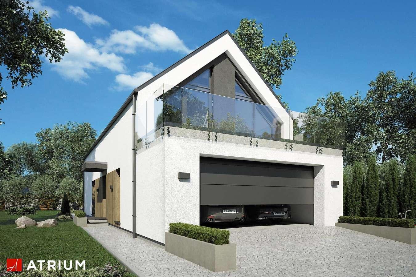 Projekty domów - Projekt domu z poddaszem BARI II - wizualizacja 1