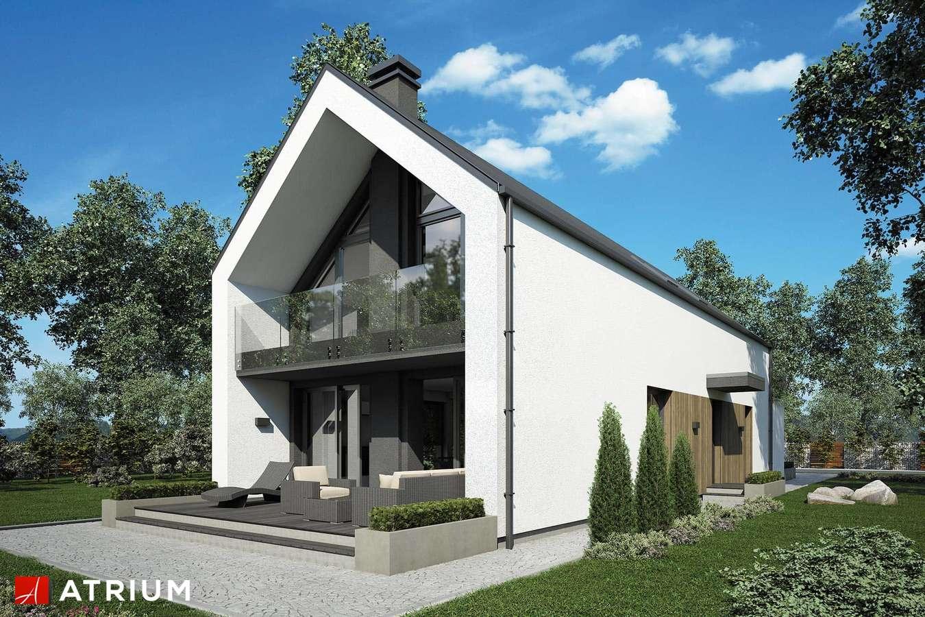 Projekty domów - Projekt domu z poddaszem BARI II - wizualizacja 2