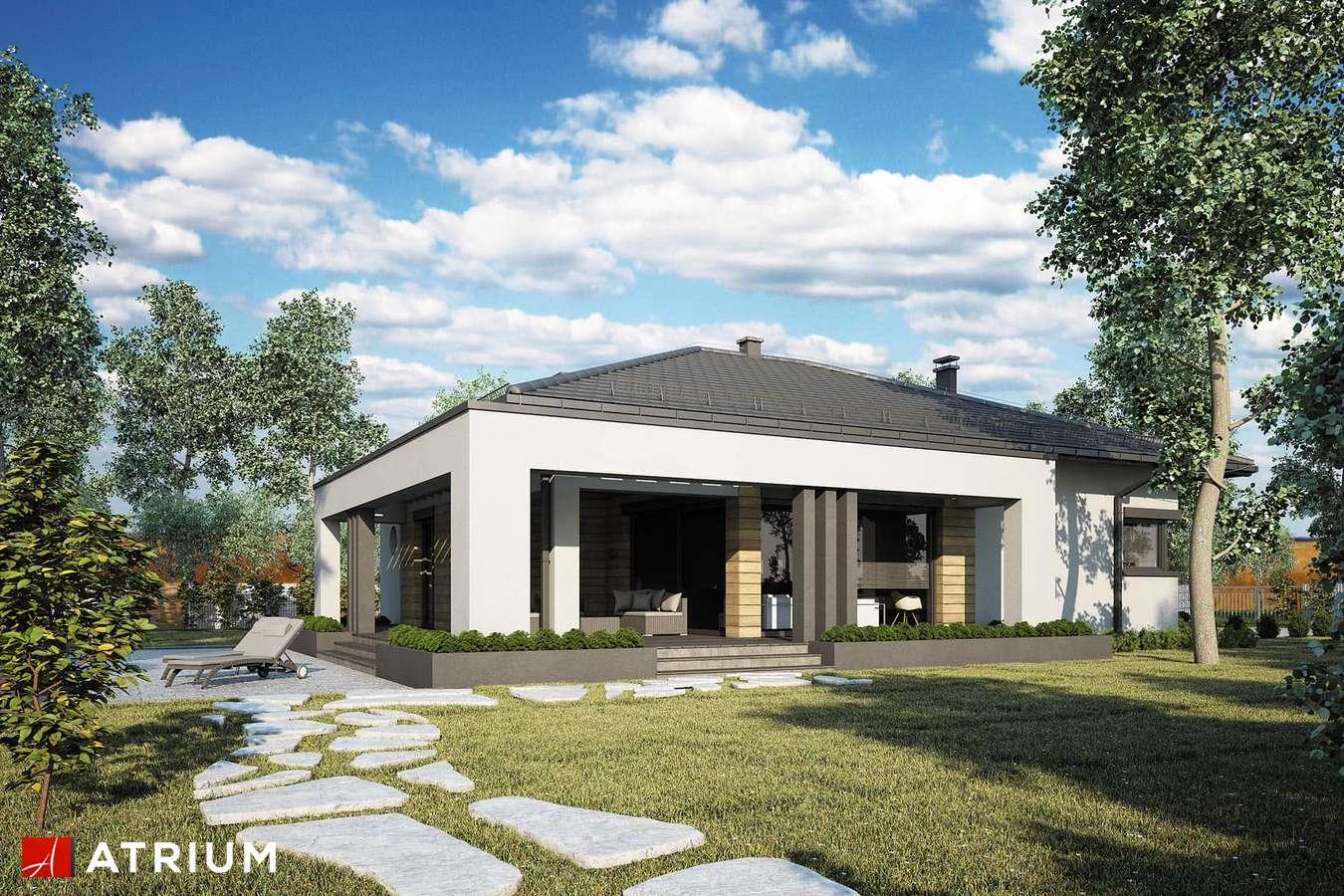 Projekty domów - Projekt domu parterowego SARDYNIA XVI - wizualizacja 2