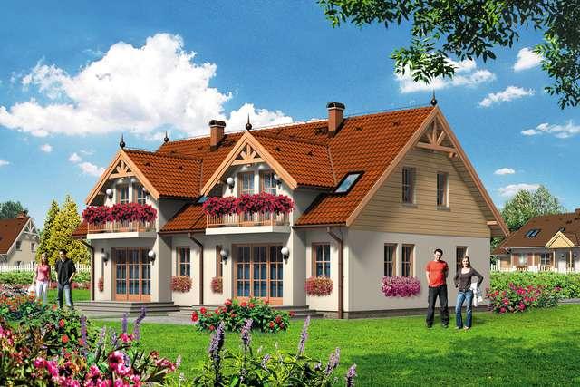 Projekt domu Adaś I Ewa