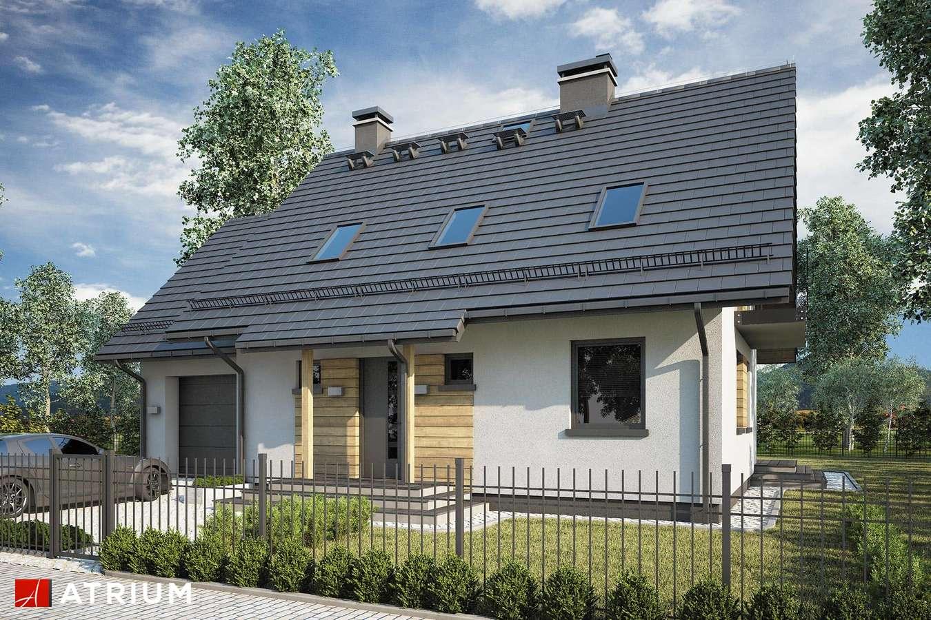 Projekty domów - Projekt domu z poddaszem ADELA II - wizualizacja 1