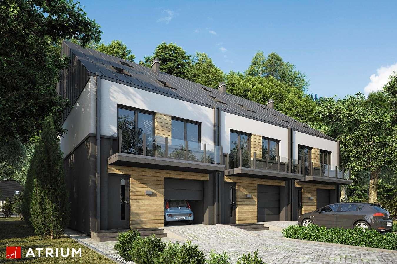 Projekty domów - Projekt domu z poddaszem TORINO SLIM MULTI - wizualizacja 1