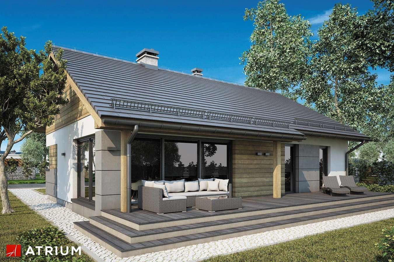 Projekty domów - Projekt domu parterowego ROBERTO VI - wizualizacja 2