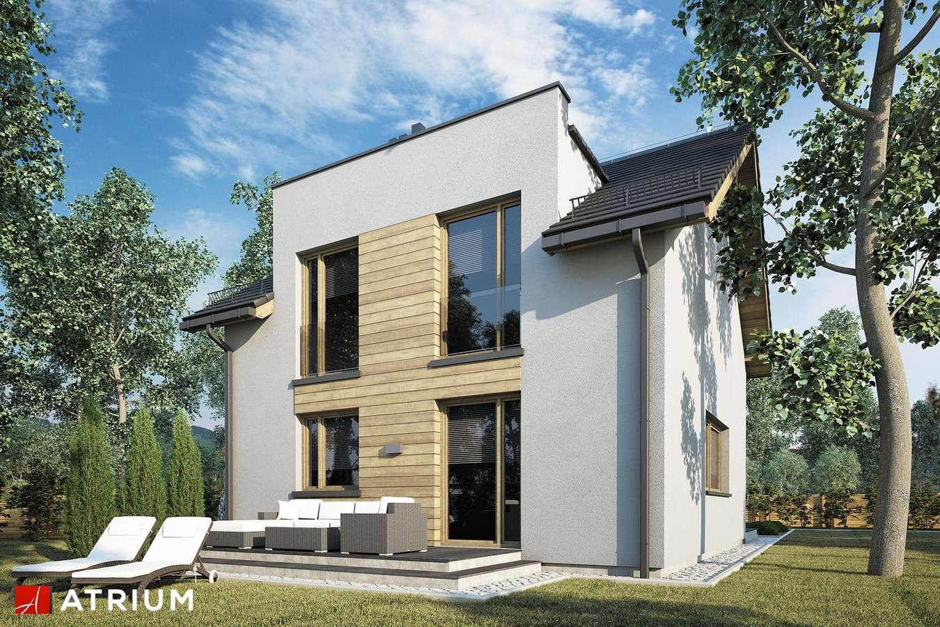 Projekty domów - Projekt domu z poddaszem SINGLE HOUSE II - wizualizacja 2