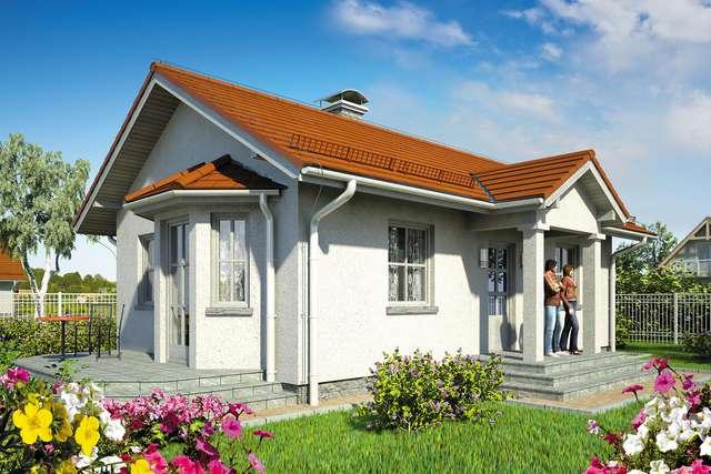 Projekt domu Tango