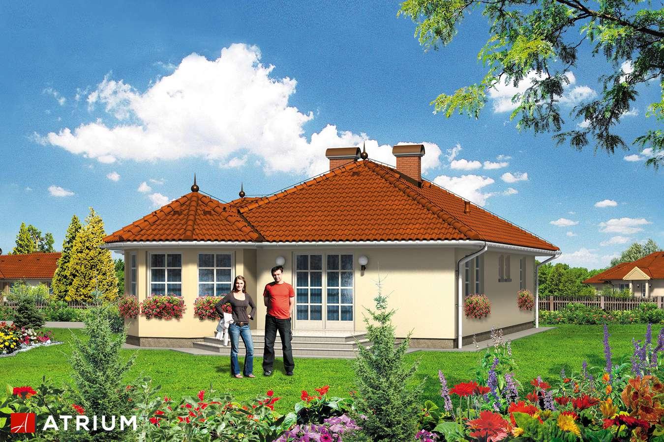 Projekty domów - Projekt domu parterowego PEGAZ - wizualizacja 2