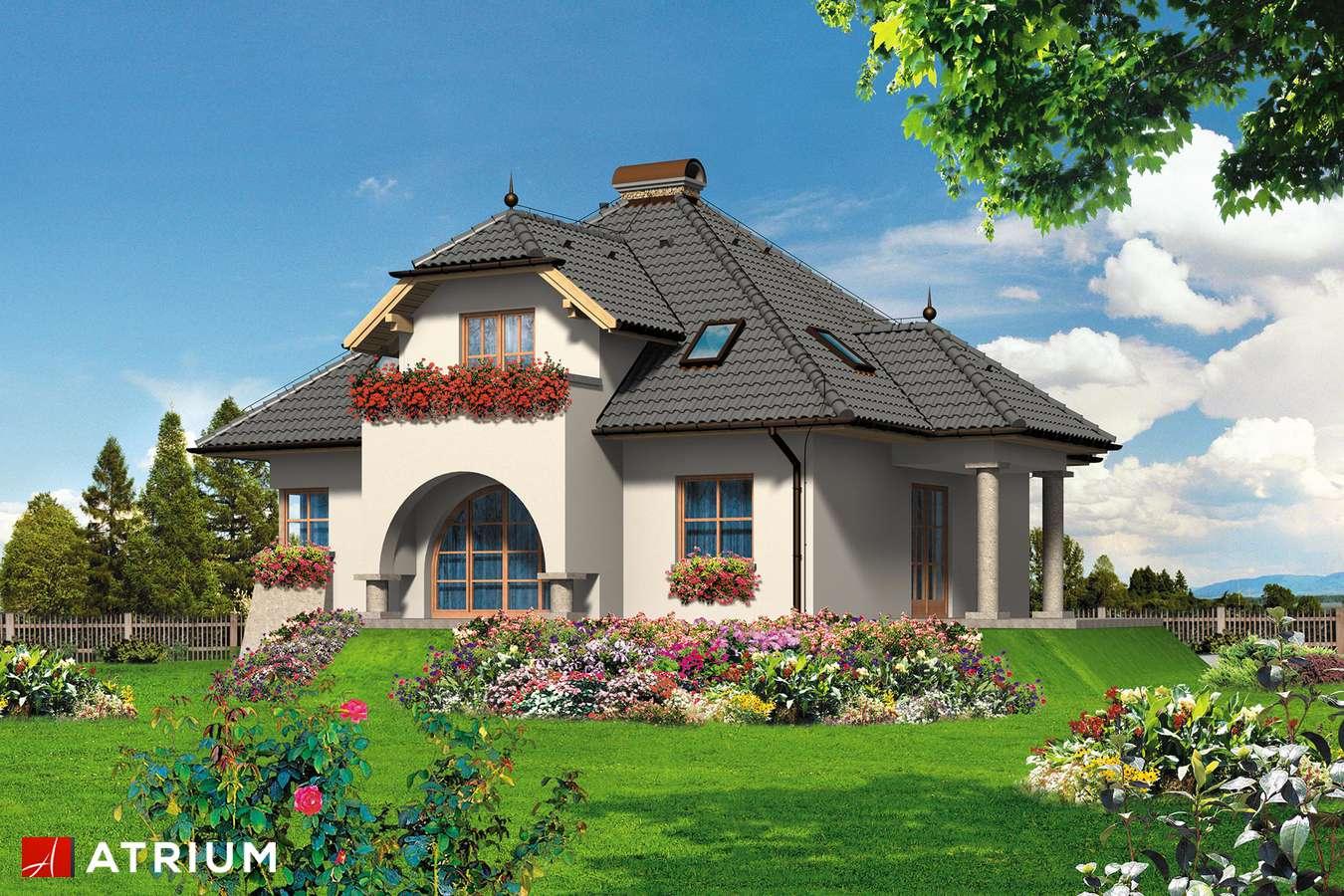 Projekty domów - Projekt domu z poddaszem DIAMENT - wizualizacja 2