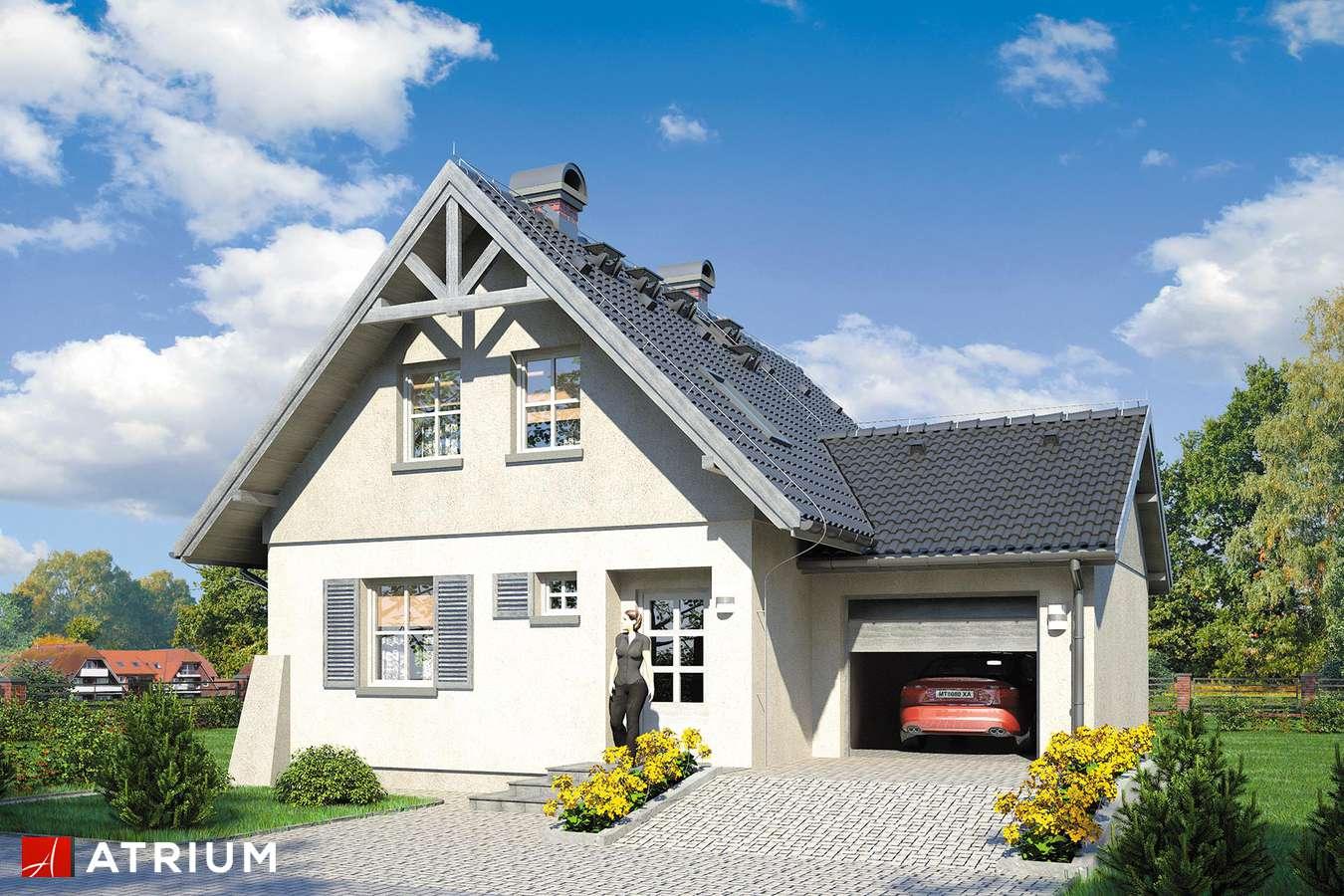 Projekty domów - Projekt domu z poddaszem GUCIO - wizualizacja 1