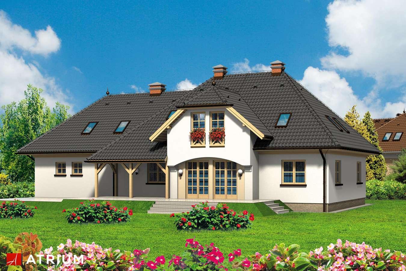 Projekty domów - Projekt domu z poddaszem FAWORYT - wizualizacja 2