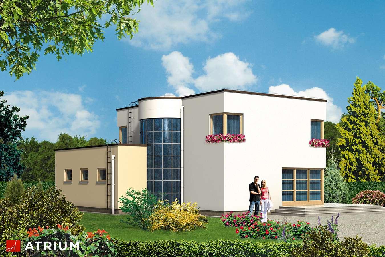 Projekty domów - Projekt domu piętrowego WILLA GRACJA - wizualizacja 1