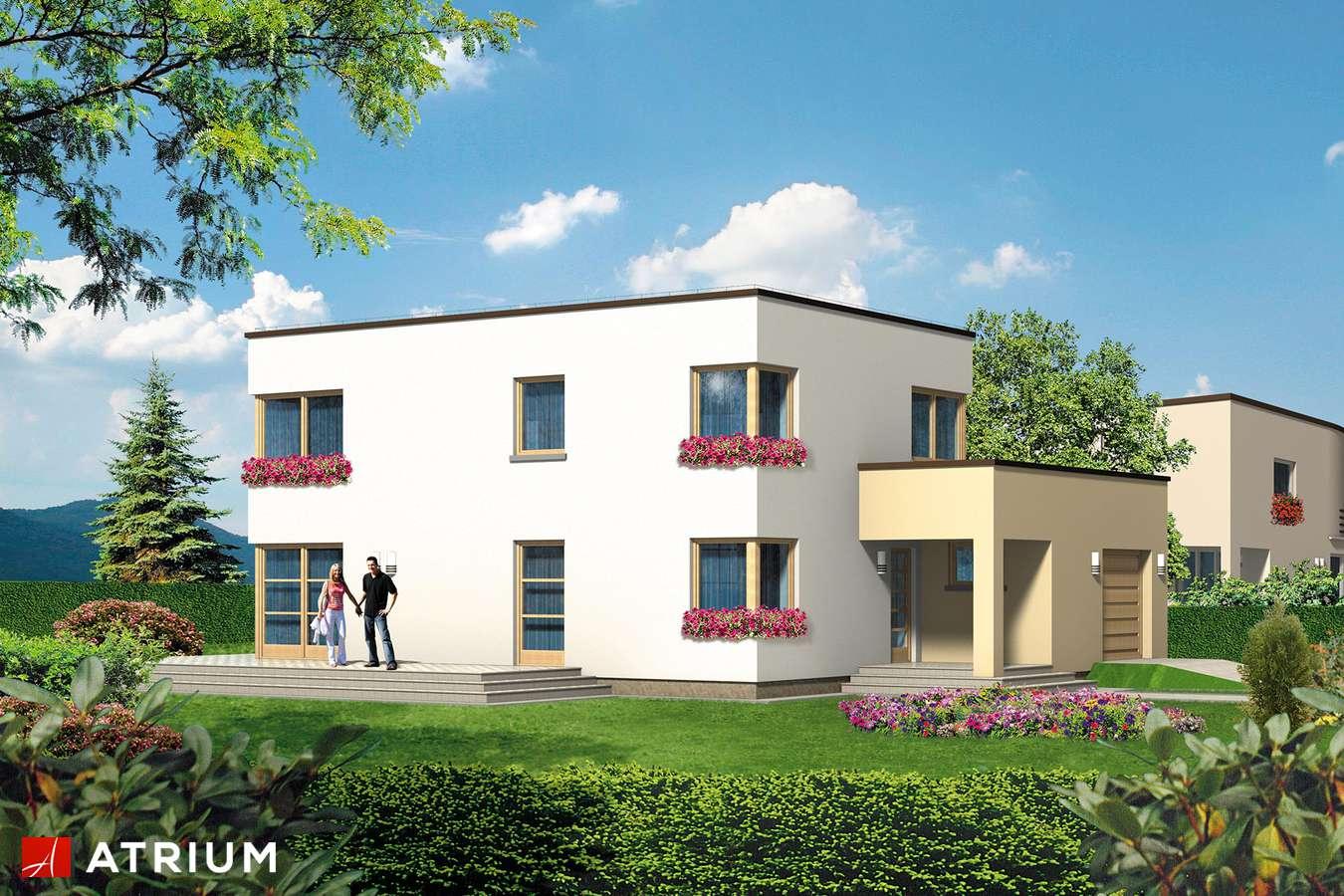 Projekty domów - Projekt domu piętrowego WILLA GRACJA - wizualizacja 2