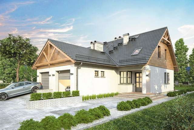 Projekt domu Duet